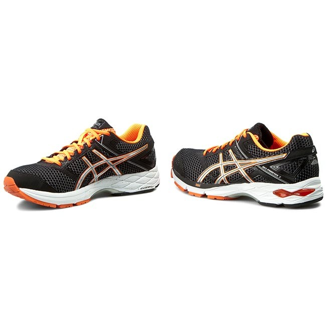 Scarpe ASICS Gel Phoenix 7 T5M0N BlackSilverHot Orange 9093