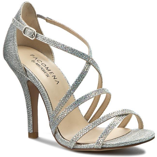 07015 Menbur Donna Sandali Silver Ciabatte Pacomena 0009 Eleganti E shroQdtBxC
