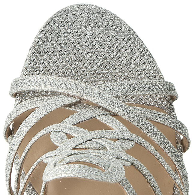 Sandali Donna Ciabatte Silver E Menbur Pacomena Eleganti 06829 0009 8mnONv0w