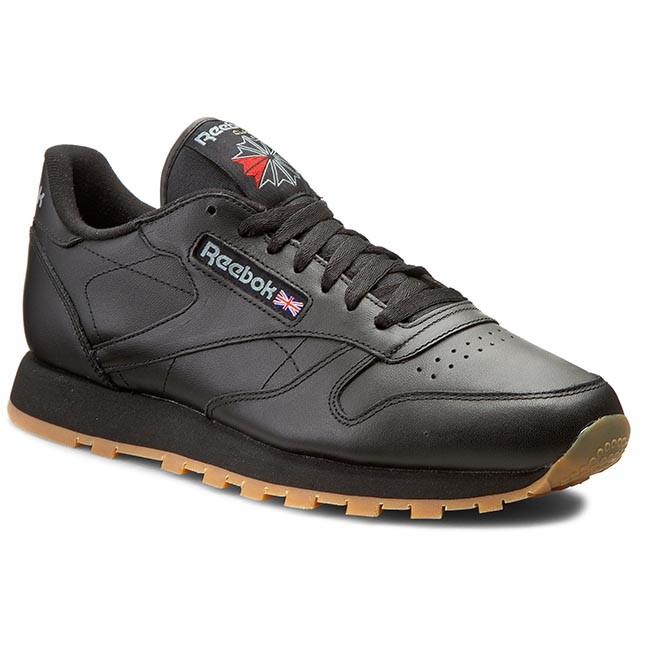 Scarpe Reebok - Cl Lthr 49800 Black/Gum