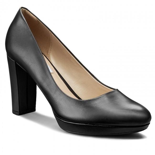 Scarpe 261188424 Clarks Con Leather Basse Sienna Black Kendra HEDb9W2YeI