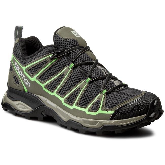 Scarpe da trekking SALOMON X Ultra Prime 379925 28 M0 AsphaltTempestTonic Green