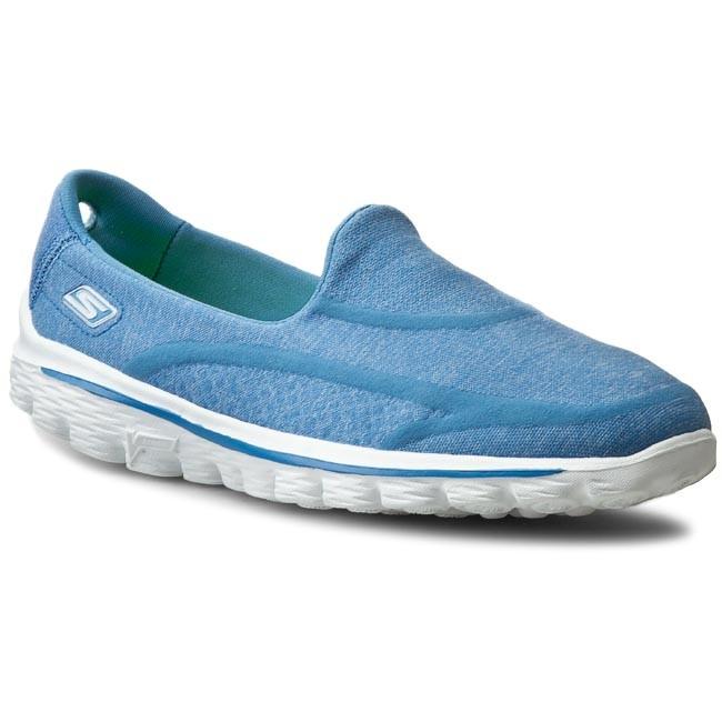 Scarpe SKECHERS Go Walk 2 Super Sock 13955BLU Blue