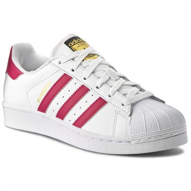 Scarpe adidas - Superstar Foundation J B23644 Ftwwht/Bopink/Ftwwht