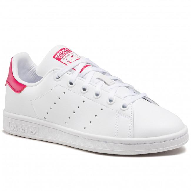 Scarpe adidas - Stan Smith J B32703 Ftwwht/Ftwwht/Bopink