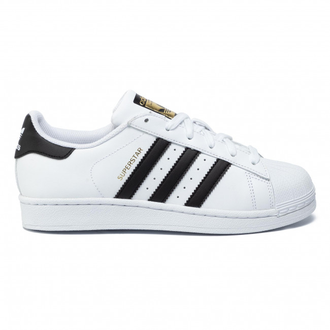 Donna cblack ftwwht Scarpe Adidas Sneakers J Basse C77154 Ftwwht Superstar OXuZPik