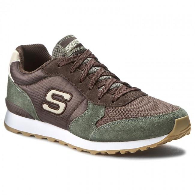 Sneakers SKECHERS - Early Grab 52310 Olive/Brown