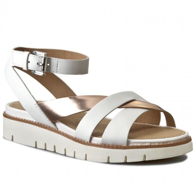 Sandalo Donna Darline Bianco D621YB 043BN C1ZH8 Geox