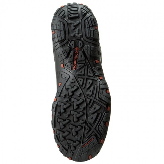 Scarpe da trekking COLUMBIA - Peakfreak Venture Mid Waterproof BM3991 Black/Sanguine 010 - Scarpe da trekking e scarponcini - Stivali e altri - Uomo