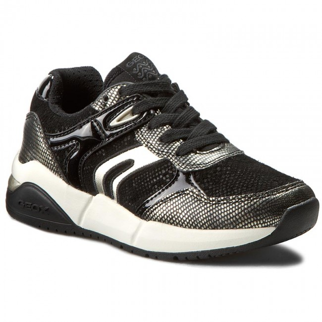 Sneakers GEOX J Hideaki G. C J641XC 0BS04 C2016 Dk Gold