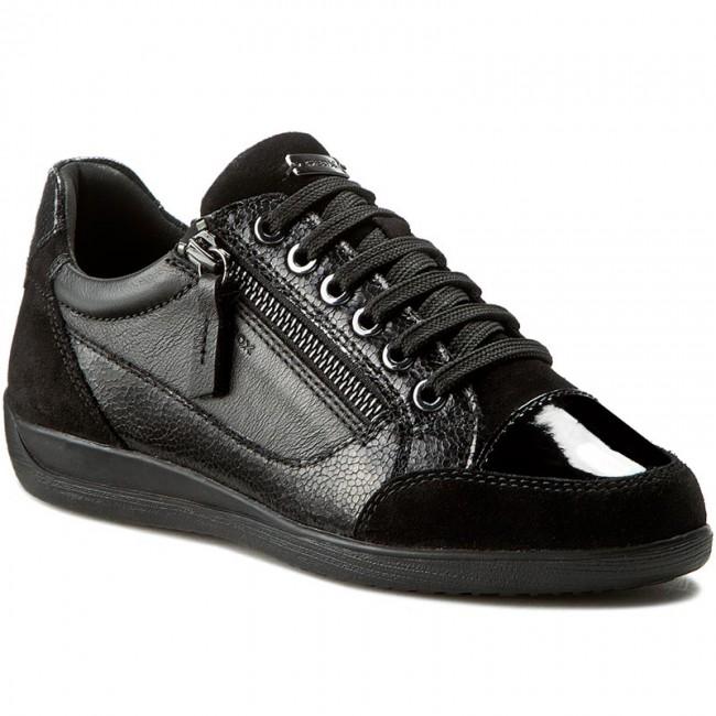 Sneakers GEOX D Myria A D6468A 0PV85 C9999 Nero
