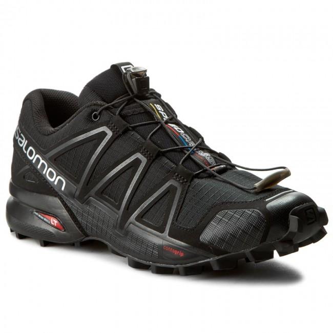 Scarpe SALOMON Speedcross 4 383130 26 V0 BlackBlackBlack Metallic