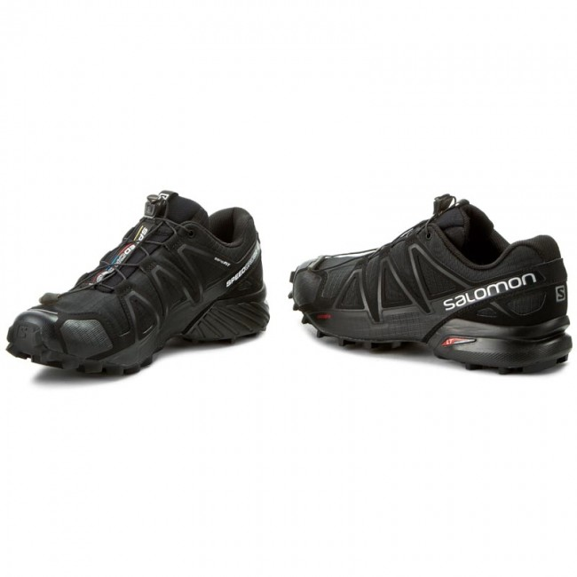 new style a6a14 e811d Scarpe SALOMON - Speedcross 4 383130 26 V0 Black/Black/Black Metallic