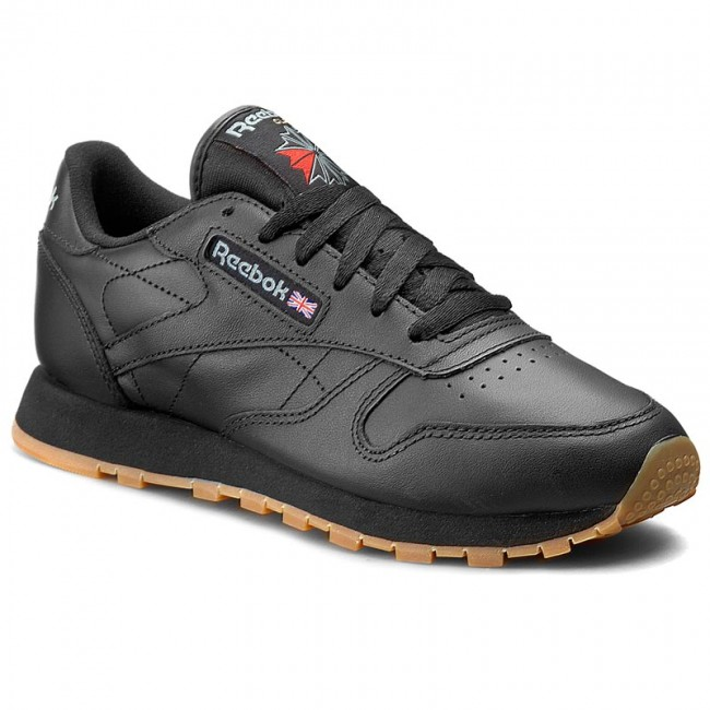 Scarpe Reebok - Cl Lthr 49804 Black/Gum