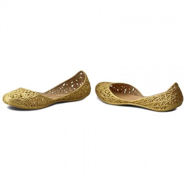 Ballerine MELISSA - Campana Zig Zag II Ad 31513 Gold Glitter 51969 - Ballerine - Scarpe basse - Donna