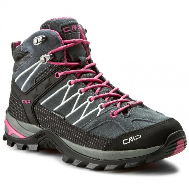 Scarpe da trekking CMP - Rigel Mid Wmn Trekking Shoes Wp 3Q12946 Grey/Fuxi 103Q