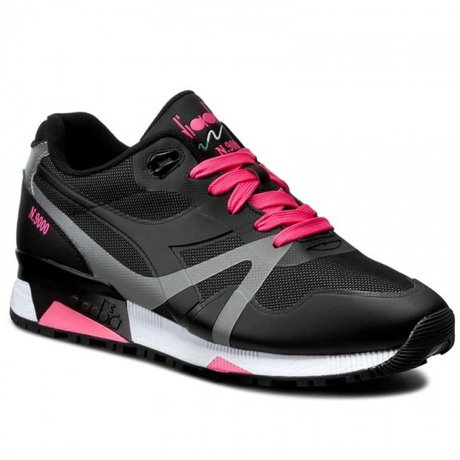 Sneakers DIADORA N9000 Bright Protection 501.171102 01 C466 BlackPink Fluo