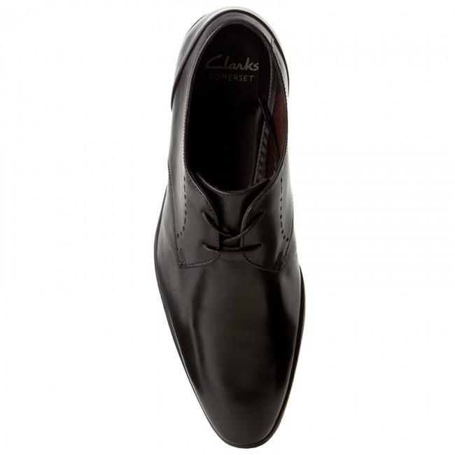 Black Bampton Basse Lace Scarpe Leather Uomo 261197957 Clarks Eleganti 6y7bfg