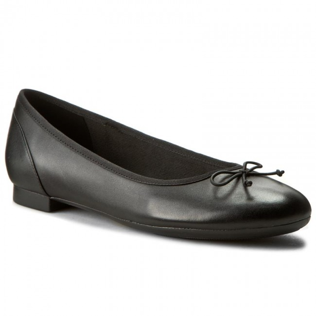 Ballerine CLARKS Couture Bloom 261154854 Black Leather