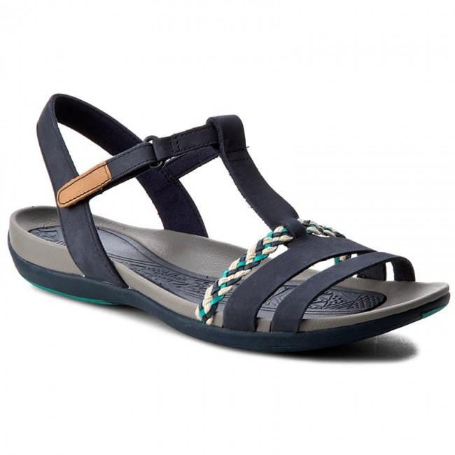 Sandali CLARKS - Tealite Grace 261238944 Navy