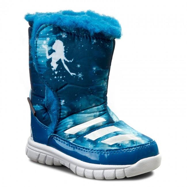Stivali da neve adidas Disney Frozen Mid I AQ3656 Uniblu