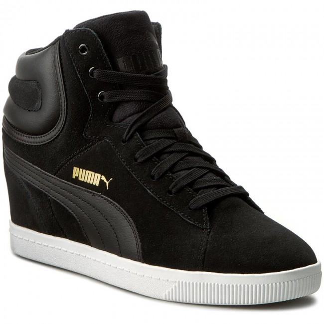 Sneakers PUMA Puma Vikky Wedge 357246 03 BlackWhite
