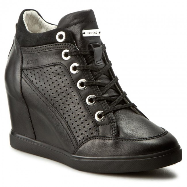 Sneakers GEOX D Eleni C D7267C 00085 C9999 Nero