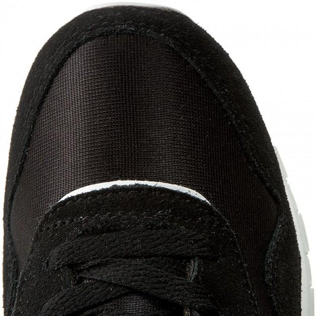 Nylon J21507 Black white Bambina Stringate Scarpe Reebok Basse Cl Bambino L35ARjc4q