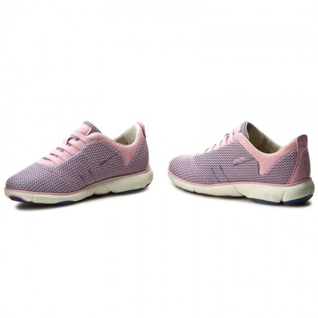 Geox D Nebula G D621EG Rose Donna Sneakers Scarpe donna