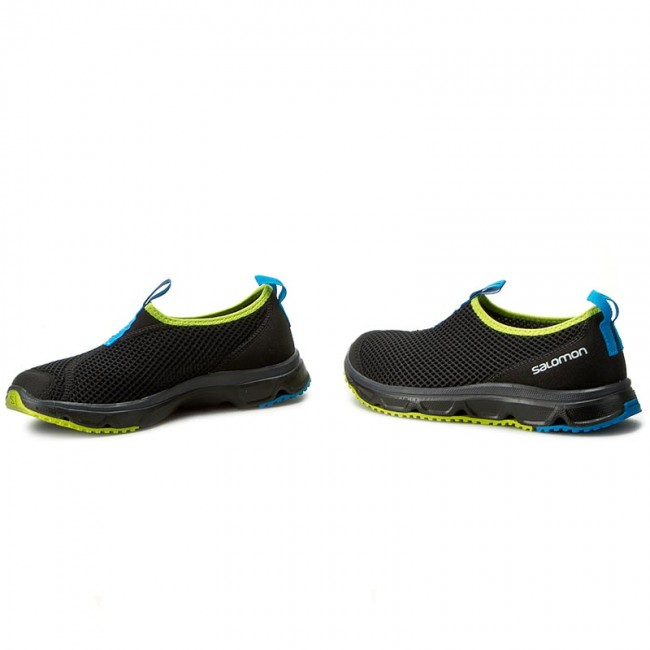 Salomon rx moc 3.0 scarpe da camminata blacklime green