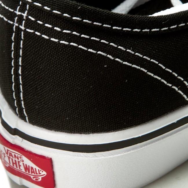 Authentic Vans Basse Scarpe Ginnastica Sportive Donna Lite Vn0a2z5j187canvasBlack Da white tshCQdr