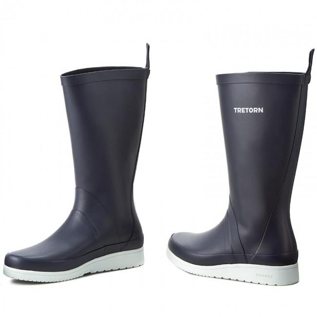 Wellington TRETORN - Viken II 473239 Navy 80 - Stivali da pioggia - Stivali e altri - Donna