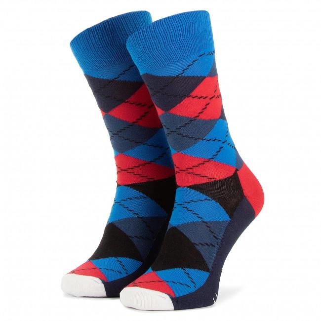 Lunghi Ar01 Blu Socks Unisex Donna Tessili Scuro 067 Accessori Calzini Happy Multicolore QxsohdCrtB
