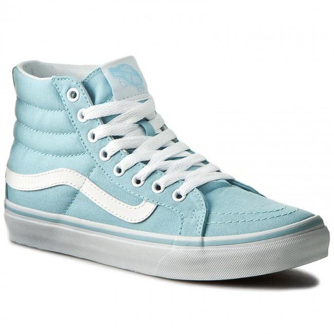 Sneakers VANS Sk8 Hi Slim VN0A32R2MQW Crystal BlueTrue White