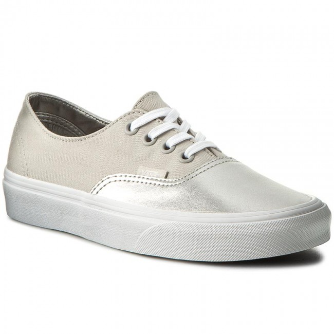 Scarpe sportive VANS Authentic Decon VAN038EPMRK (Metallic Silver) Canvas