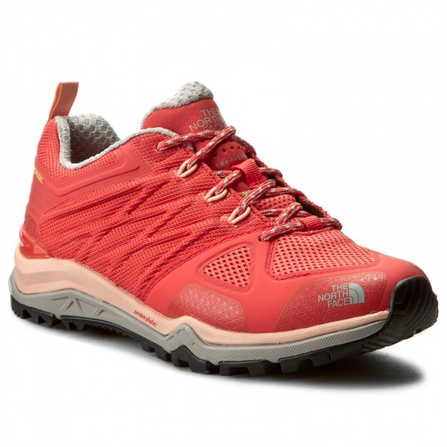 The North Face Ultra Fastpack II GTX Scarpe Donna, cayenne redtropical peach