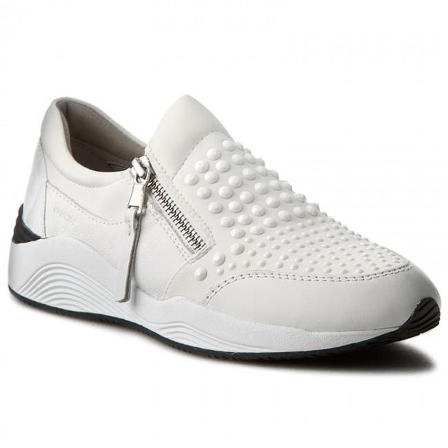Geox Sneakers Sneaker basse SNEAKER BASSE Bianco OMAYA