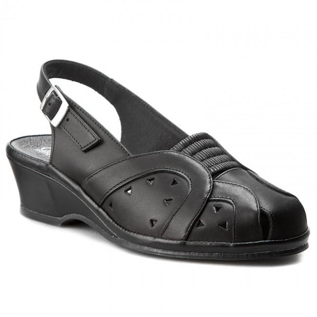 Sandali COMFORTABEL - 720099 Schwarz 1 - Sandali da giorno - Sandali - Ciabatte e sandali - Donna
