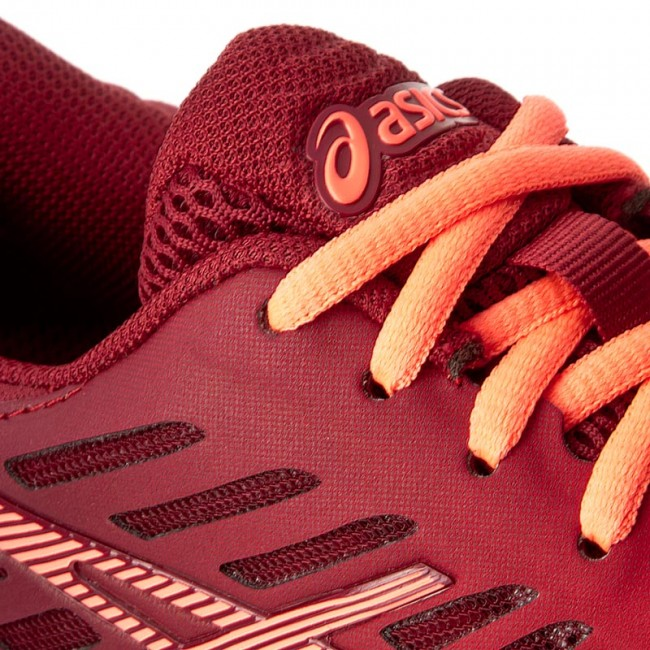 Scarpe ASICS FuzeX T689N Ot RedFlash CoralTrue Red 2306
