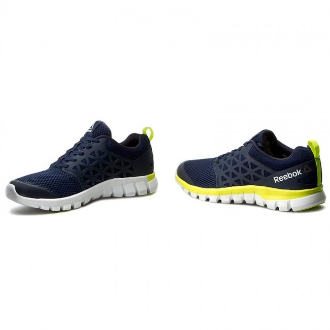 Scarpe Reebok Sublite Xt Cushion 2.0 Mt BD5534 NavyYellowWhtPwtr