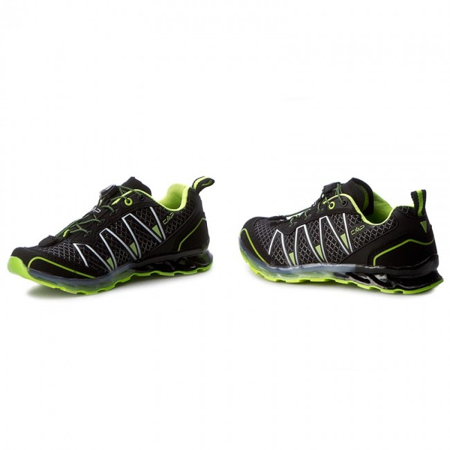Nero yellow Altas Shoes Scarpe Fluo Trekking Bambino Trail Da Cmp Basse 3q95264j 38ae Stringate Kids Ifv6Ygb7y