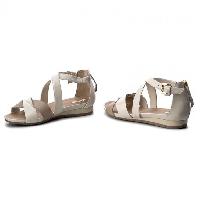 Geox D FORMOSA A D7293A (Nero) Sandali e scarpe aperte