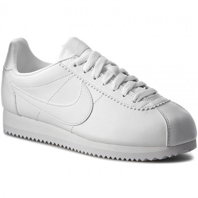 Scarpe NIKE - Classic Cortez Leather 807471 102 White/White