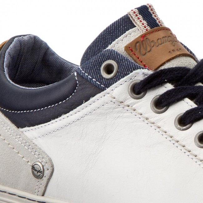 navy Uomo Sneakers Wrangler Basse White Wf0930112 257 Owen Derby Scarpe HIeWEYD29b