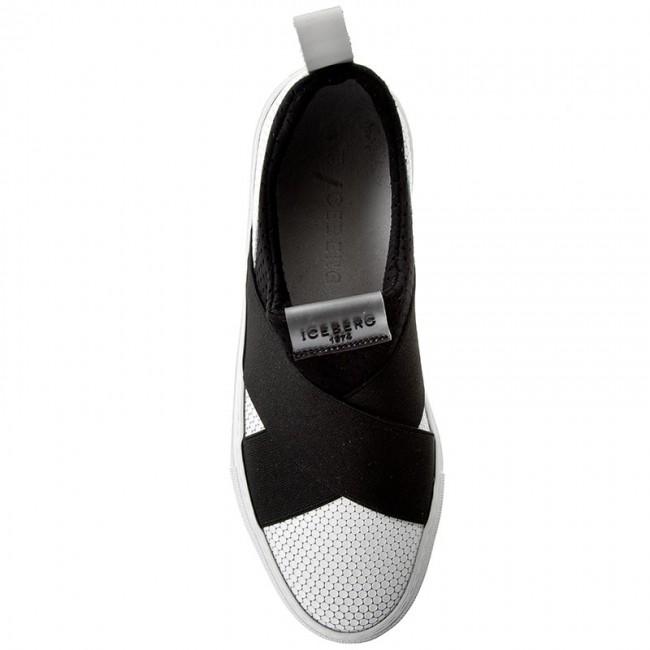 Hero Bianco Donna Serena Basse Sneakers Iceberg 17eid1010a Scarpe c4q35AjLRS