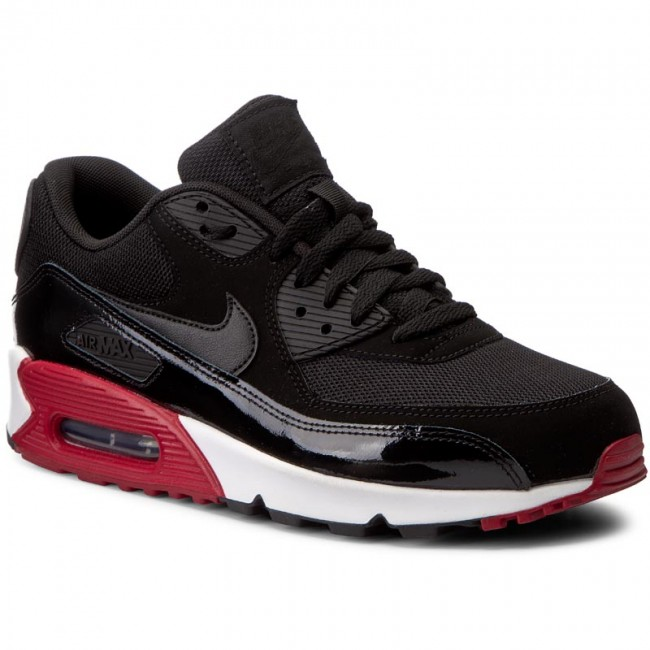 nike air max 90 essential grey nero red