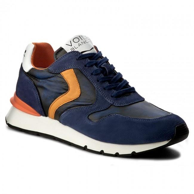 Sneakers VOILE BLANCHE Liam Race 0012011204.01.9103 BluArancio