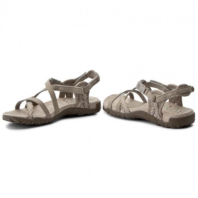 Sandali MERRELL - Terran Lattice II J02766 Taupe - Sandali da giorno - Sandali - Ciabatte e sandali - Donna