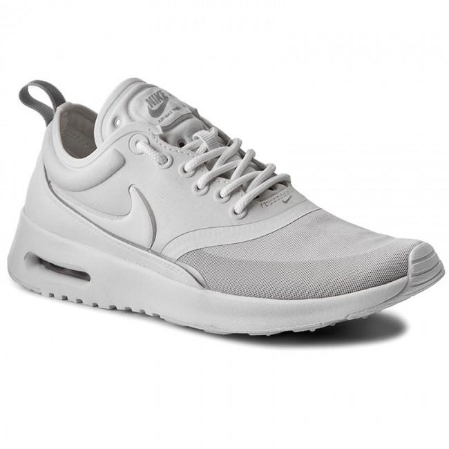 nike air max thea ultra premium trainers in bianca