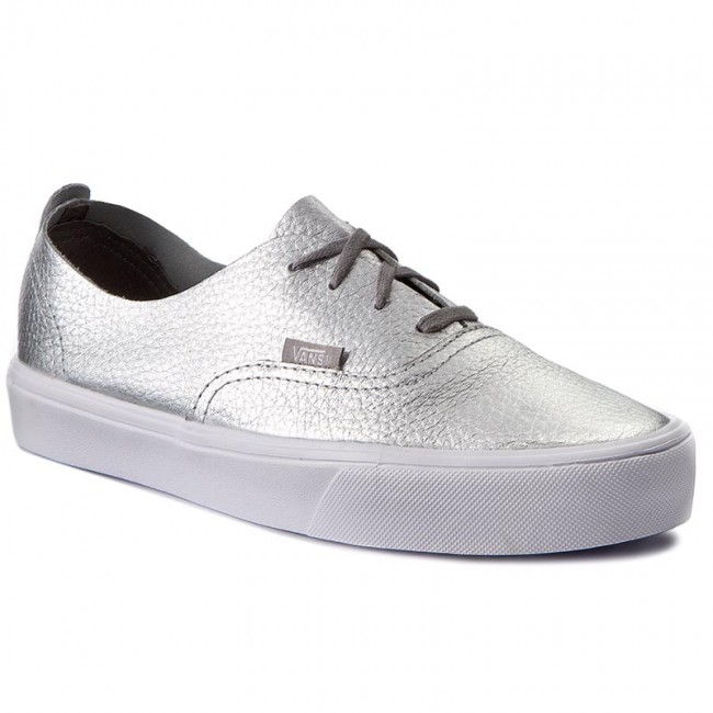 Scarpe sportive VANS Authentic Decon VN0A38ERN5K (Leather) Silver